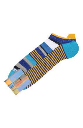 Мужские хлопковые носки GALLO бирюзового цвета, арт. AP502382 | Фото 1