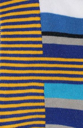 Мужские хлопковые носки GALLO бирюзового цвета, арт. AP502382 | Фото 2