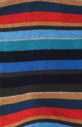 Мужские носки из смеси хлопка и кашемира GALLO синего цвета, арт. AP102853 | Фото 2