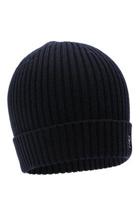 Мужская шерстяная шапка RALPH LAUREN темно-синего цвета, арт. 790712863 | Фото 1