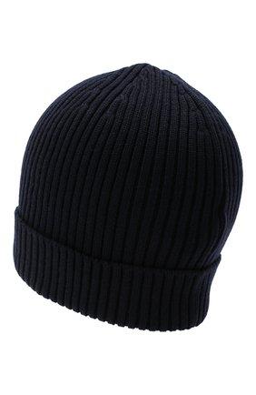 Мужская шерстяная шапка RALPH LAUREN темно-синего цвета, арт. 790712863 | Фото 2