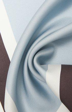 Мужской шелковый платок TOM FORD синего цвета, арт. 9TF92/TF312 | Фото 2