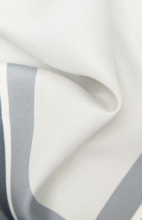 Мужской шелковый платок TOM FORD серого цвета, арт. 9TF93/TF312 | Фото 2