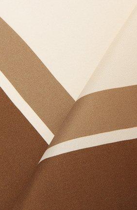 Мужской шелковый платок TOM FORD коричневого цвета, арт. 9TF93/TF312 | Фото 2