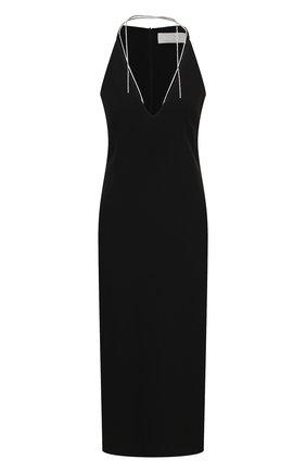 Женское платье BOSS черного цвета, арт. 50442745 | Фото 1