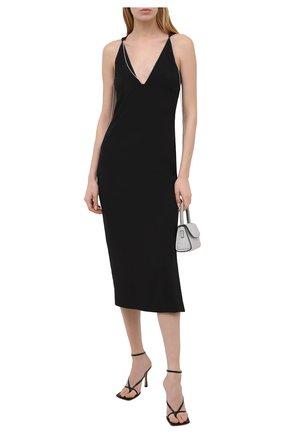 Женское платье BOSS черного цвета, арт. 50442745 | Фото 2