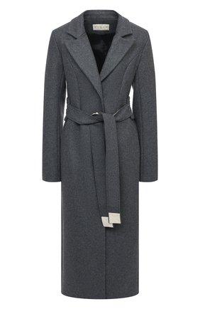 Женское шерстяное пальто RUBAN серого цвета, арт. RPFW20/21-1.1.32.4 | Фото 1