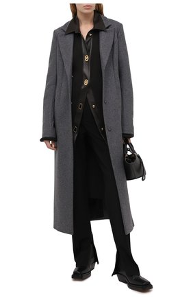 Женское шерстяное пальто RUBAN серого цвета, арт. RPFW20/21-1.1.32.4 | Фото 2