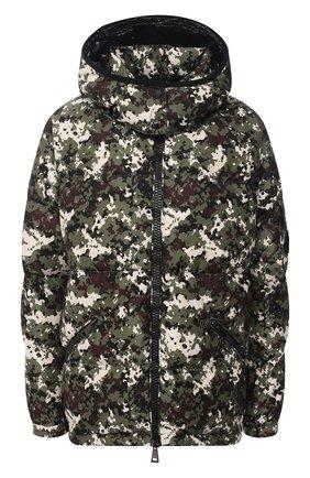Женский пуховая куртка MONCLER хаки цвета, арт. F2-093-1A550-00-54AND | Фото 1