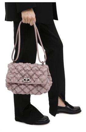 Женская сумка VALENTINO светло-бежевого цвета, арт. UW0B0H78/EFZ | Фото 2