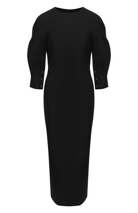 Женское платье BRANDON MAXWELL черного цвета, арт. DR252PF20 | Фото 1