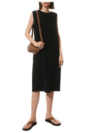 Женское платье THE ROW черного цвета, арт. 5575W1968 | Фото 2