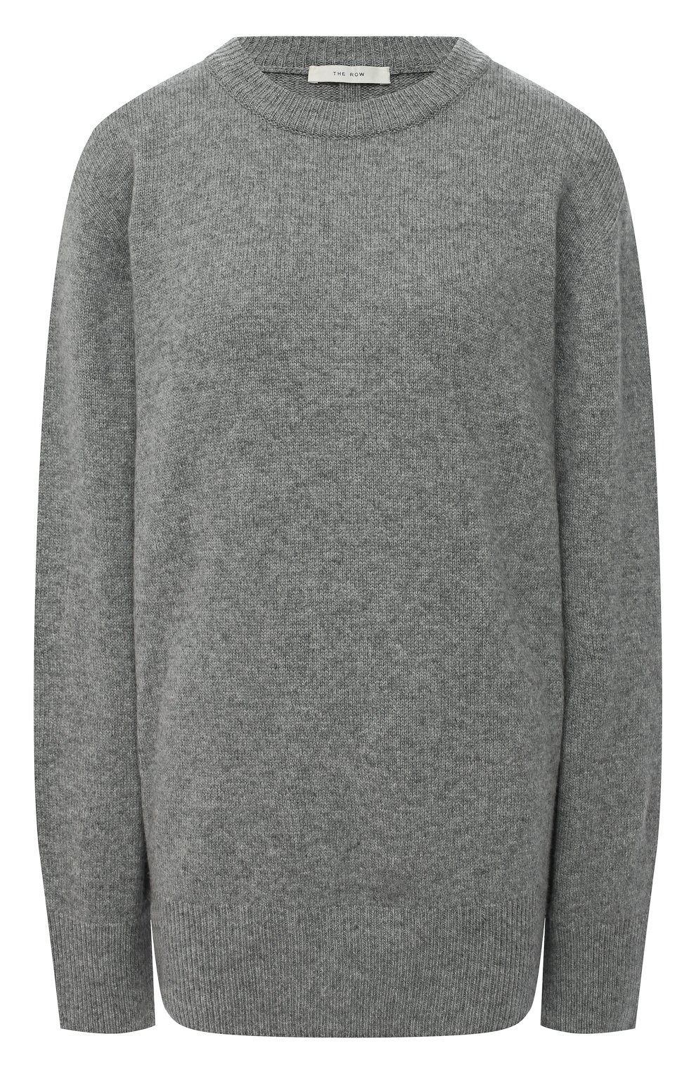 Женский свитер из шерсти и кашемира THE ROW серого цвета, арт. 5582Y184 | Фото 1