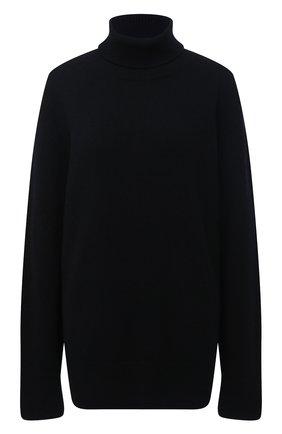Женский свитер из шерсти и кашемира THE ROW черного цвета, арт. 5583Y184 | Фото 1