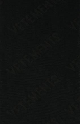 Женские колготки с логотипом бренда VETEMENTS черного цвета, арт. WAH21AC302 1380/BLACK | Фото 2