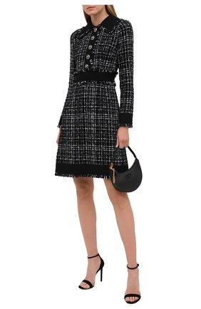 Женское платье DOLCE & GABBANA черного цвета, арт. F6H1WT/FMMFS | Фото 2