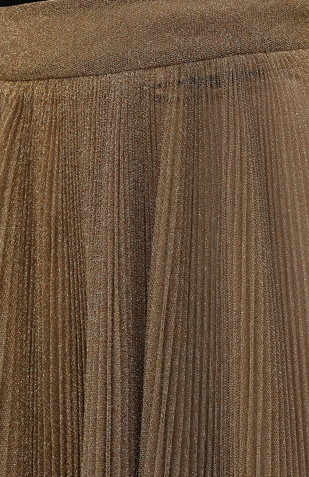 Женская юбка DOLCE & GABBANA бронзового цвета, арт. F4BYWT/FLMGR | Фото 5