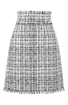 Женская юбка DOLCE & GABBANA белого цвета, арт. F4BYJT/FMMFT | Фото 1