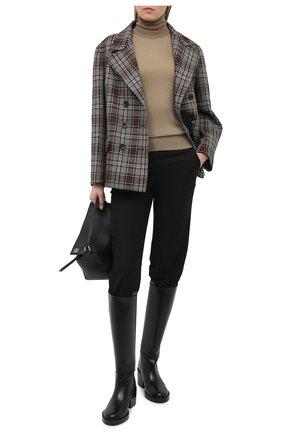 Женский шерстяной пуловер DOLCE & GABBANA коричневого цвета, арт. FX835T/JAVVY | Фото 2