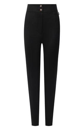 Женские шерстяные брюки DOLCE & GABBANA черного цвета, арт. FTBU0T/FUBE7 | Фото 1
