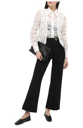 Женская блузка DOLCE & GABBANA белого цвета, арт. F5L81T/HLMEA | Фото 2