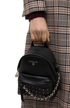 Женский рюкзак slater small MICHAEL MICHAEL KORS черного цвета, арт. 30F0G04B0I | Фото 2