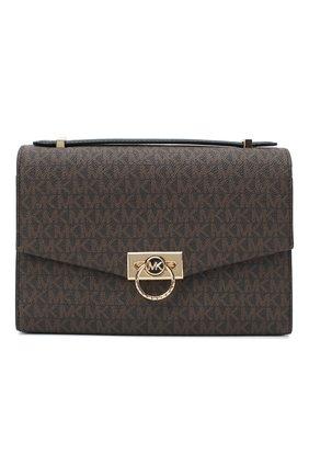 Женская сумка hendrix medium MICHAEL MICHAEL KORS коричневого цвета, арт. 30F0G1HM2B | Фото 1