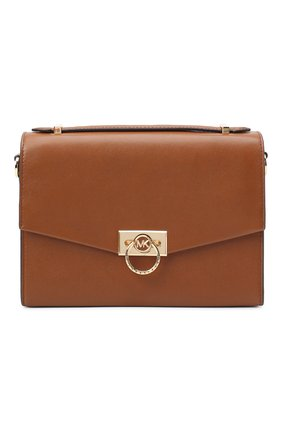 Женская сумка hendrix medium MICHAEL MICHAEL KORS коричневого цвета, арт. 30F0G1HM2L | Фото 1