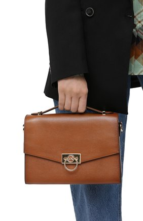 Женская сумка hendrix medium MICHAEL MICHAEL KORS коричневого цвета, арт. 30F0G1HM2L | Фото 2