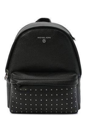 Женский рюкзак slater medium MICHAEL MICHAEL KORS черного цвета, арт. 30F0S04B2I | Фото 1