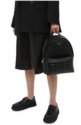 Женский рюкзак slater medium MICHAEL MICHAEL KORS черного цвета, арт. 30F0S04B2I | Фото 2