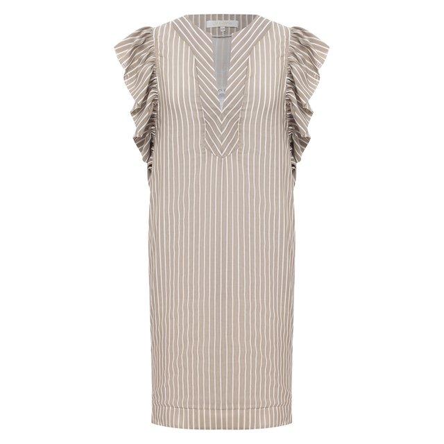 Платье из хлопка и шелка Lila Eugenie