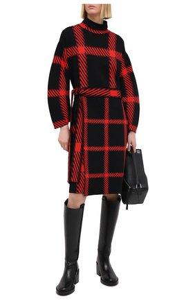 Женское платье из вискозы STELLA MCCARTNEY красного цвета, арт. 602435/S2216 | Фото 2