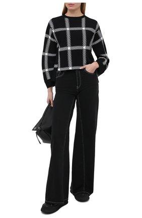 Женский пуловер из вискозы STELLA MCCARTNEY черно-белого цвета, арт. 602161/S2216 | Фото 2