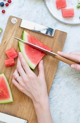 Нож chef royal chef CHRISTOFLE бежевого цвета, арт. 00070069 | Фото 2 (Интерьер Кросс-КТ: кухонные принадлежности; Ограничения доставки: fragile-2)