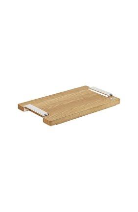 Разделочная доска  royal chef CHRISTOFLE бежевого цвета, арт. 04200550 | Фото 1 (Интерьер Кросс-КТ: кухонные принадлежности; Ограничения доставки: fragile-2)