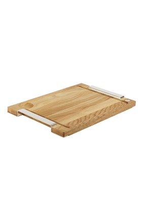 Разделочная доска  royal chef CHRISTOFLE бежевого цвета, арт. 04200555 | Фото 1 (Интерьер Кросс-КТ: кухонные принадлежности; Ограничения доставки: fragile-2)