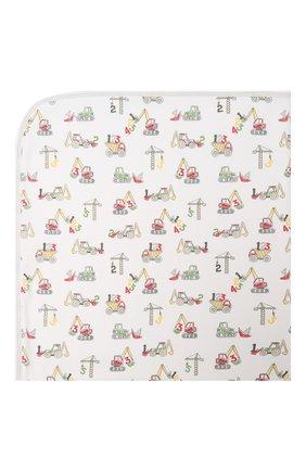 Детского хлопковое одеяло KISSY KISSY белого цвета, арт. KB7048180 | Фото 2