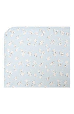 Детского хлопковое одеяло KISSY KISSY голубого цвета, арт. KB7050340   Фото 2