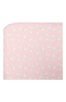 Детского хлопковое одеяло KISSY KISSY розового цвета, арт. KG7050410 | Фото 2