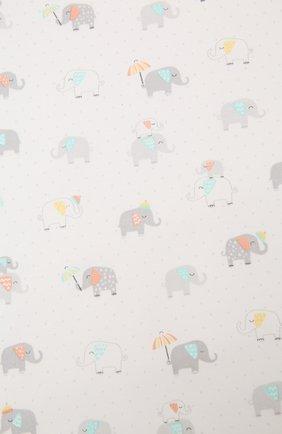 Детского хлопковое одеяло KISSY KISSY разноцветного цвета, арт. KN7046410   Фото 2