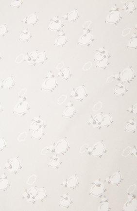 Детского хлопковое одеяло KISSY KISSY серого цвета, арт. KN7050480 | Фото 2