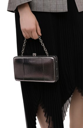 Женский сумка RALPH LAUREN серебряного цвета, арт. 435818336 | Фото 2