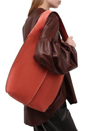 Женский сумка-шопер ACNE STUDIOS красного цвета, арт. A10047 | Фото 2
