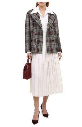 Женские замшевые туфли armissa RALPH LAUREN коричневого цвета, арт. 800838026 | Фото 2