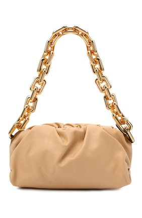 Женская сумка chain pouch BOTTEGA VENETA бежевого цвета, арт. 620230/VCP40 | Фото 1