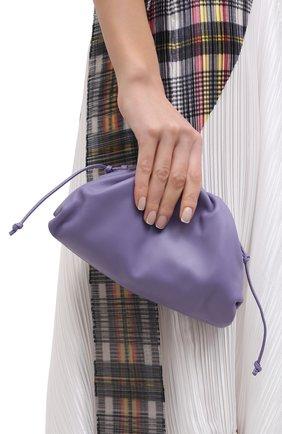 Женский клатч pouch 20 BOTTEGA VENETA сиреневого цвета, арт. 585852/VCP40 | Фото 2