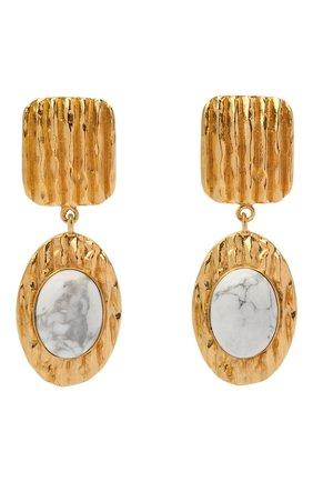 Женские серьги COPINE JEWELRY золотого цвета, арт. ZOYAH | Фото 1