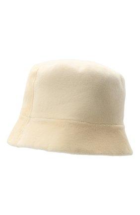 Женская шляпа из меха норки KUSSENKOVV белого цвета, арт. 151210012042 | Фото 2