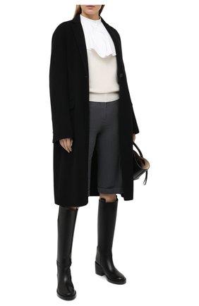 Женский кашемировый свитер BOSS белого цвета, арт. 50444484 | Фото 2
